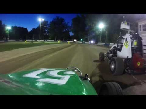 Ninja Feature Race at Starlite Speedway June 24 2016