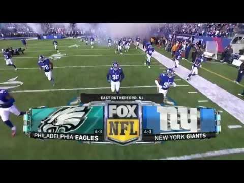 NFL On FOX Intro 2016  - Eagles Vs Giants