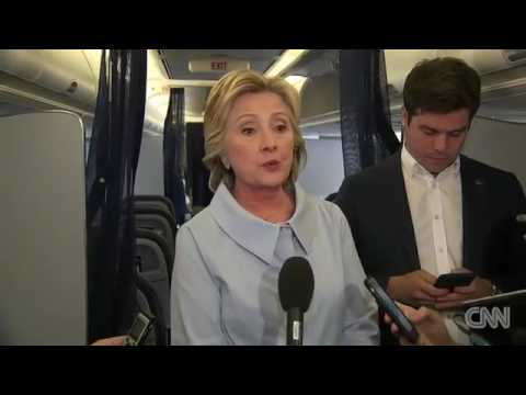 News Clinton 'not concerned' about conspiracy theories - CNN channel