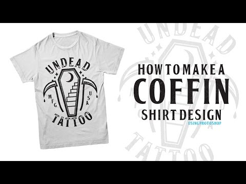 How To Make Shirt Designs - Undead Tattoo