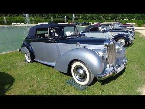 1953, Alvis TC21-100 Tickford, Retro Classics meets Barock 2015