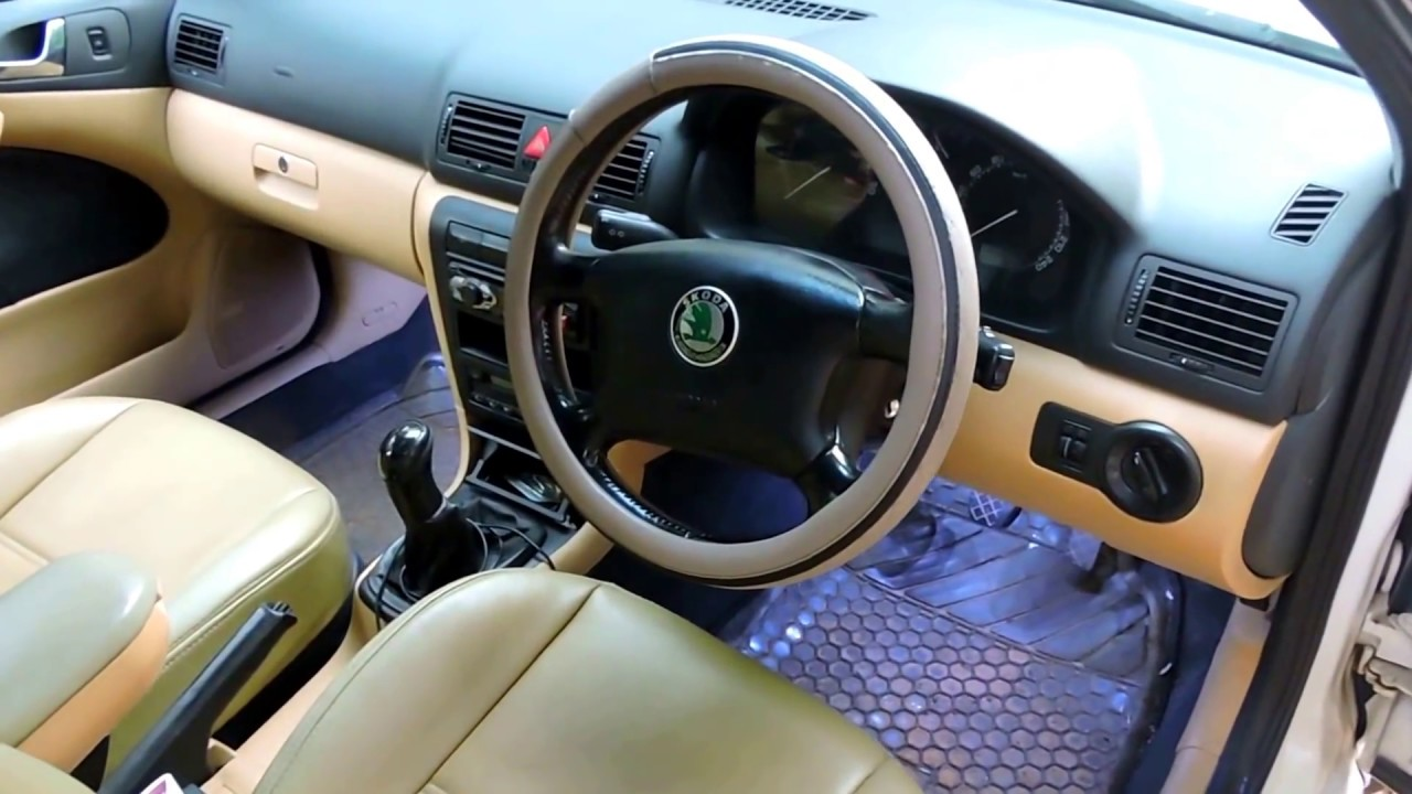 2004 skoda octavia interior youtube for Skoda octavia interior
