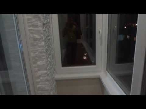 Внутренняя отделка балкона, Декоративный Камень