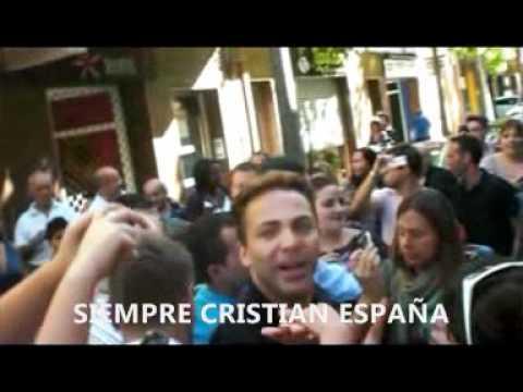 CRISTIAN CASTRO EN BARCELONA, ARRASANDO EN ESPAÑA