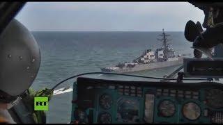 La Flota rusa vigila las actividades de fuerzas navales de la OTAN en el mar Negro