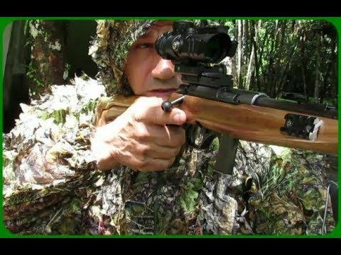 Rifle CBC 8022  .22LR:  Dia de treinamento
