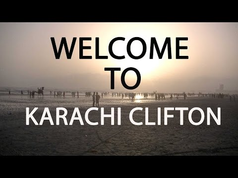 PAKISTAN (MeriJaan): Welcome To KARACHI CLIFTON!! (Vlog2)