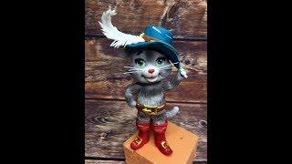 обзор фигурки кот в сапогах