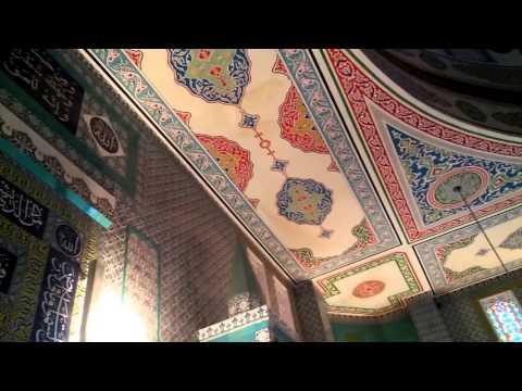 Татарский Азан. Центральная мечеть г Альметьевск. Муадзин Ислам шакирд АИМ