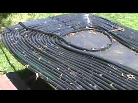 Swimming pool solar heater youtube - Solar powered swimming pool heater ...