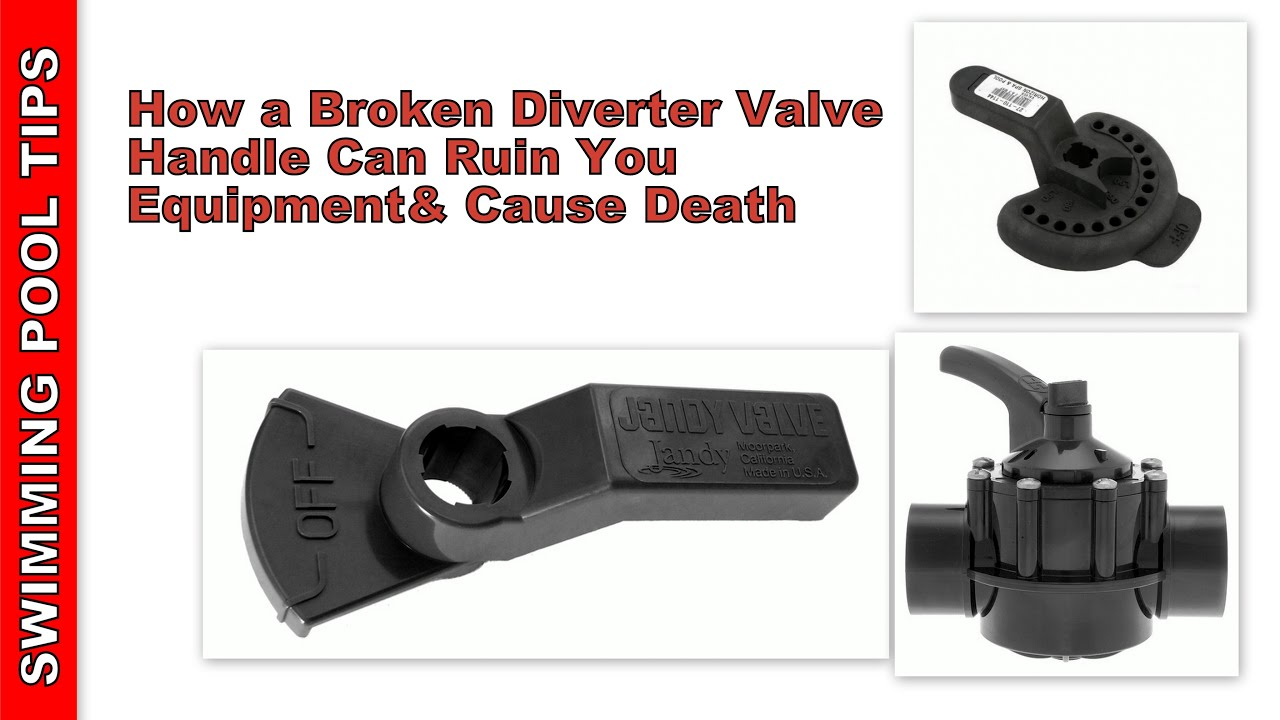 How A Broken Diverter Valve Handle Can Ruin Your Equipment