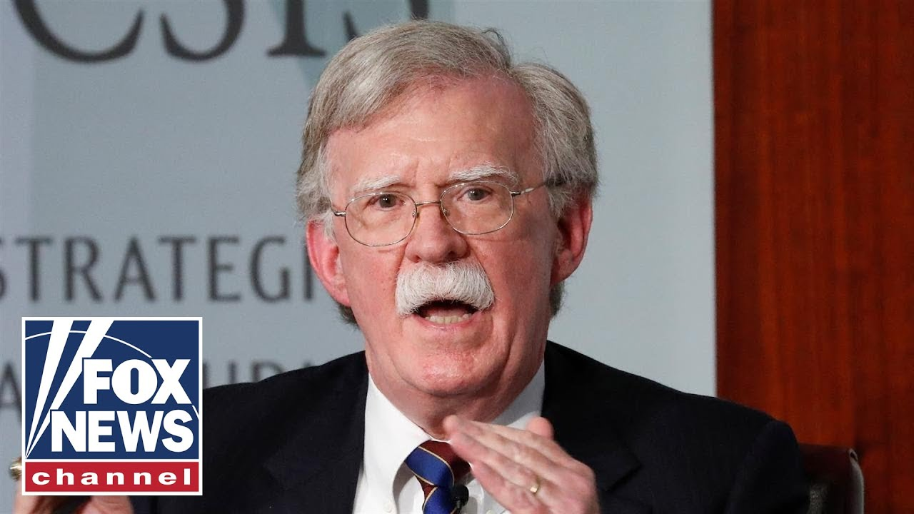 Bolton returns to Twitter, accuses White House of blocking access to account FOX News