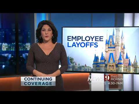 Disney Lays Off 28000 Workers