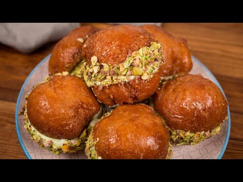 Pistachio bombs: a tasty and creamy dessert to die for!
