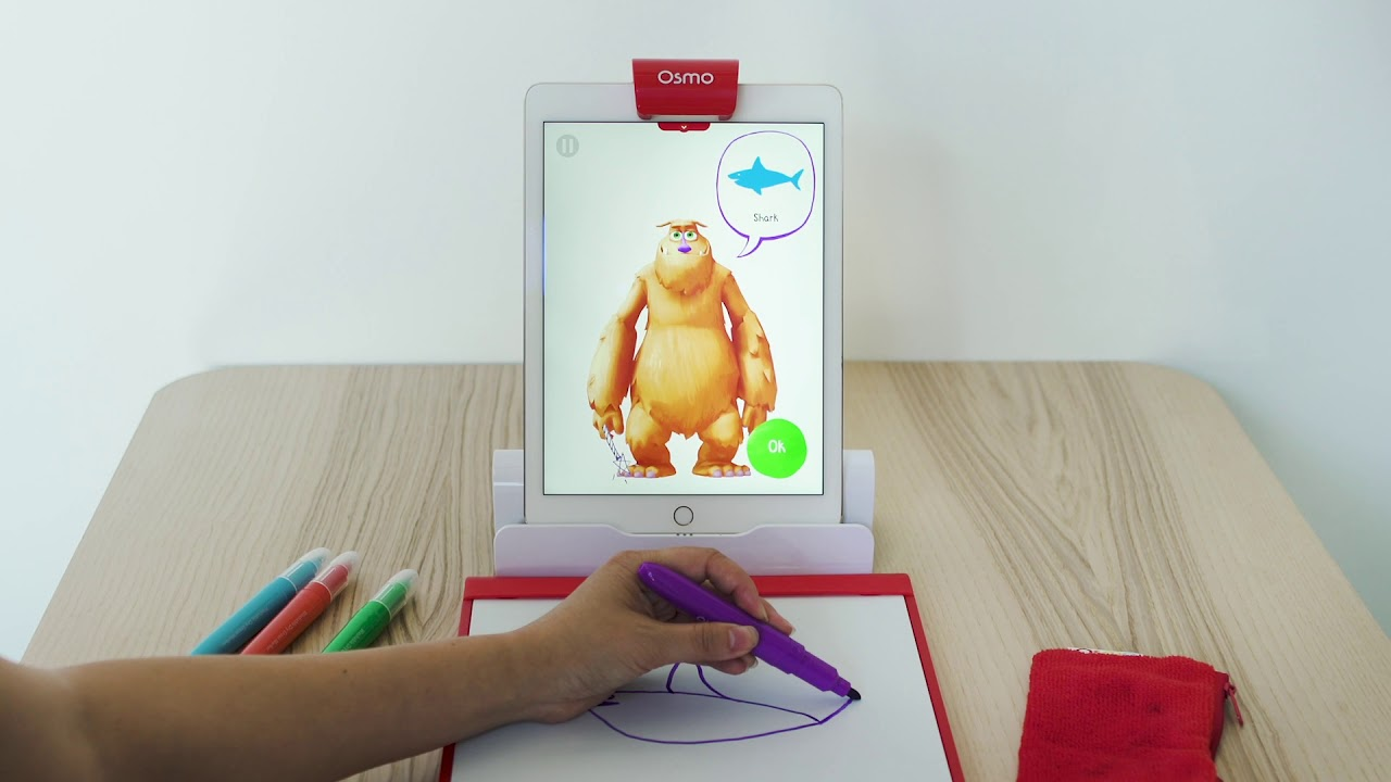 Osmo Creative Starter Kit for iPad with Osmo Base (Ages 5-10+) @ JB Hi-Fi -  YouTube