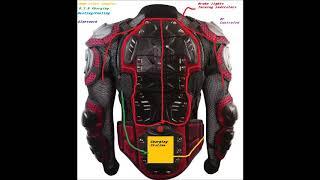 test jacket brake light jacket