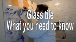 ? Glass tile what you need to know before you install it.