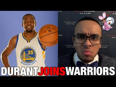 TEA: TOUGH TOPIC Kevin Durant leaves OKC & joins the Warriors! PLUS he fronts on Westbrook!