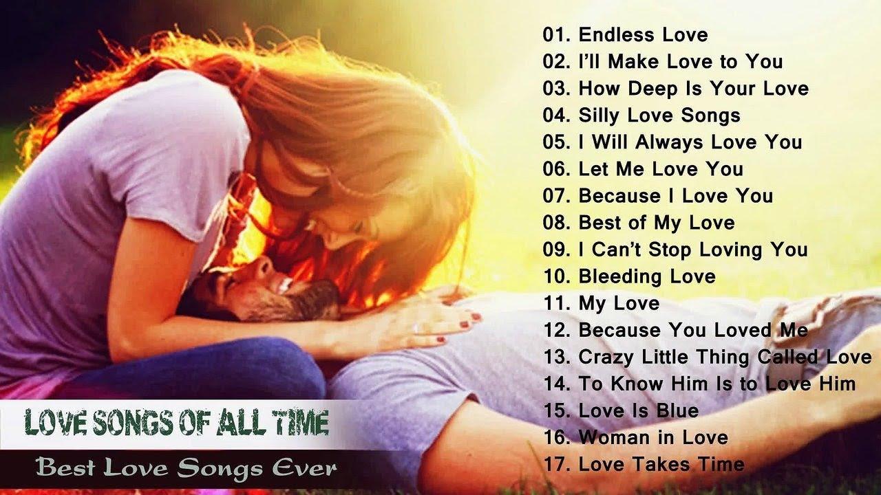 List of lovesongs
