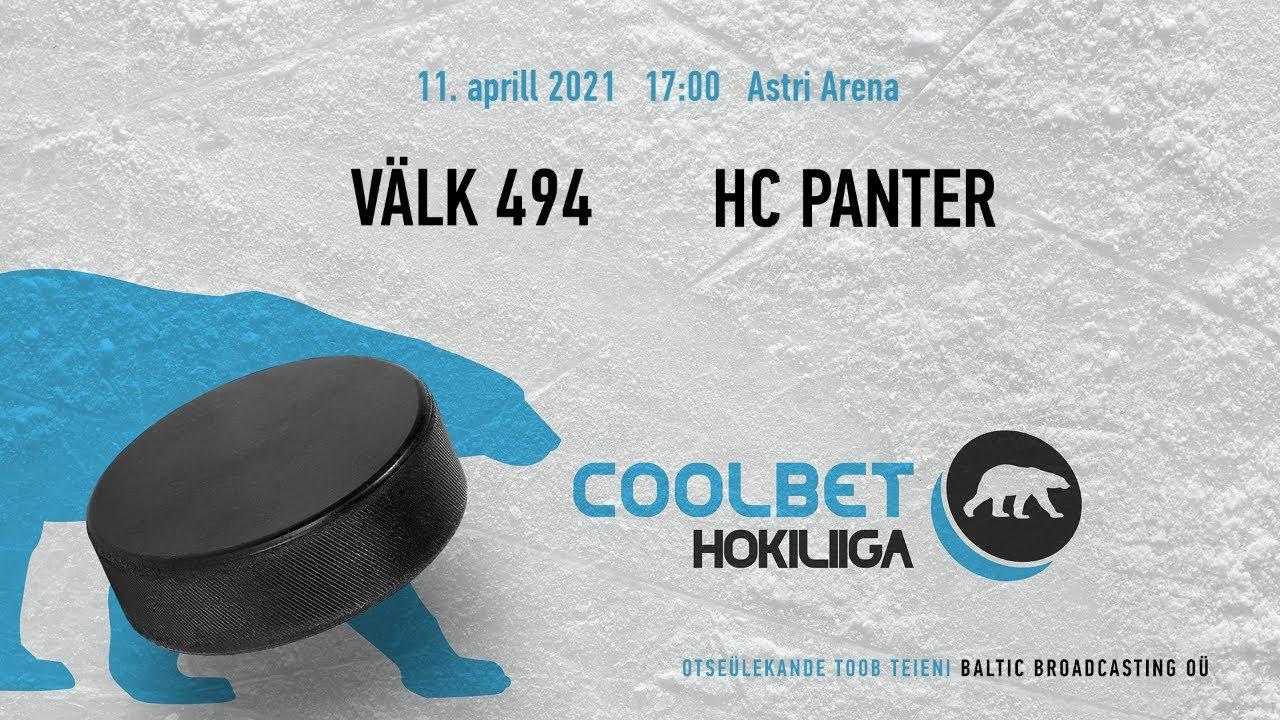 Välk494 - HC Panter, 11.04.2021 - Coolbet Hokiliiga