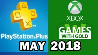 PS4 and XBOX ONE Free Games May 2018