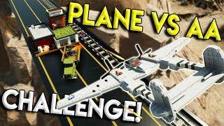 LEGO ANTI AIR VS AIRPLANE BASE DEFENSE CHALLENGE! - Brick Rigs Multiplayer Gameplay Challenge