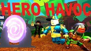 Neues Spiel Roblox Hero Havoc - Rylans Familie Spaß