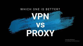 VPN Vs Proxy Server: What's The Difference?