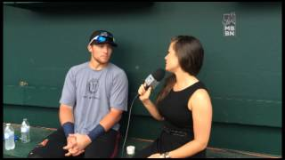 In the Dugout with Brandon Drury