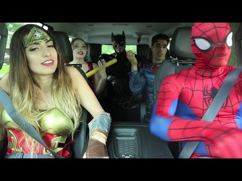 Super Hero Carpool Ride