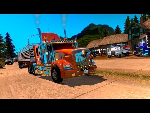 RUMBO A MANIZALES!!! | KENWORTH T800 COLOMBIANA!!! | AMERICAN TRUCK SIMULATOR |  COLOMBIA