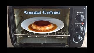 Easy caramel pudding / custard using Prestige POTG 19 PCR OTG