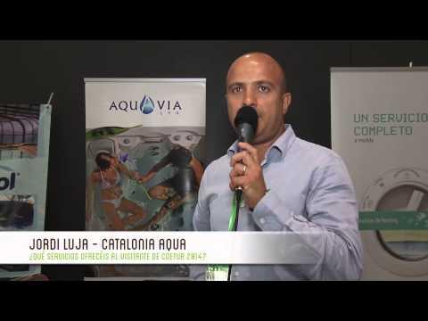 Entrevista Jordi Luja - Catalonia Aqua - COETUR 2014