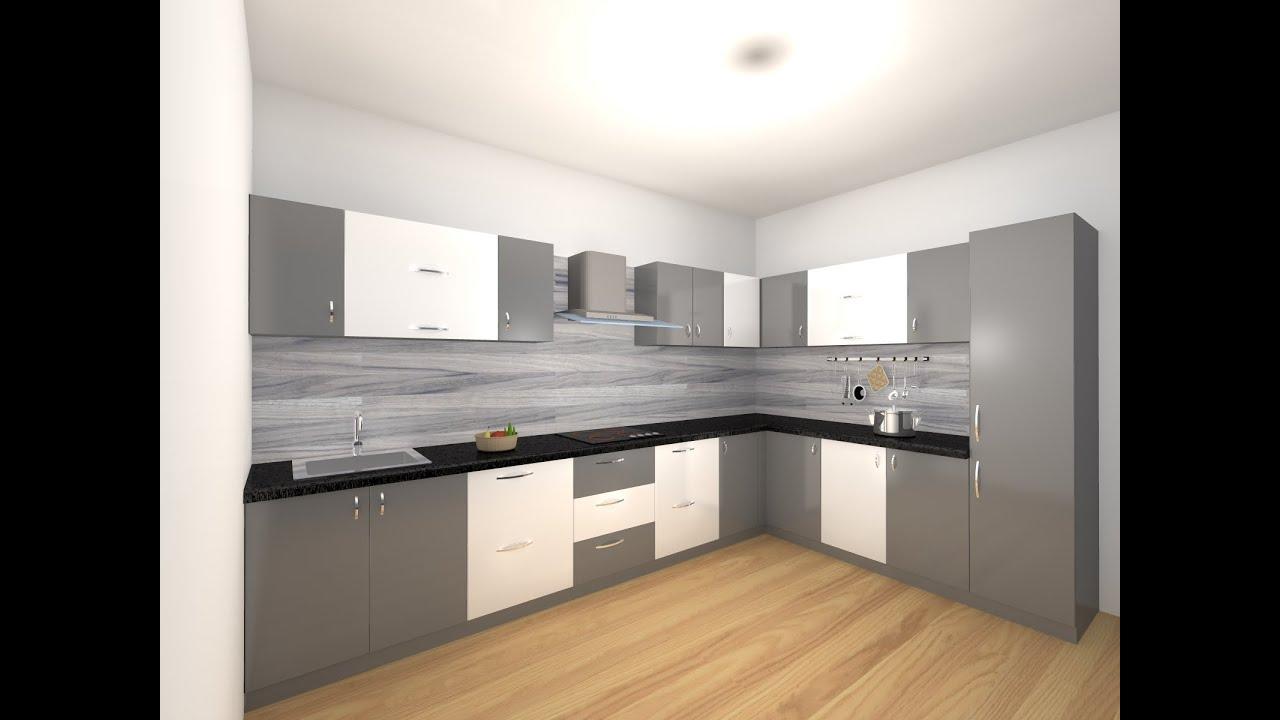 Modular Kitchen design 2020 - YouTube