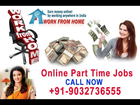 Work from Home Online Jobs in at Hyderabad, Bangalore