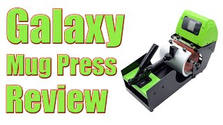 Galaxy Mug Press Review Martin Butler Sublimation Printing