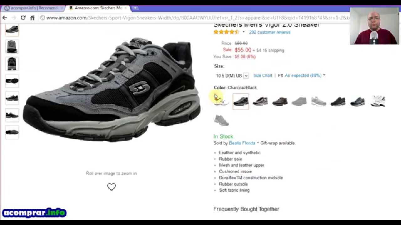 e716fdb7 ¿Cómo comprar zapatos en Amazon? y no fallar en el intento – acomprar.info