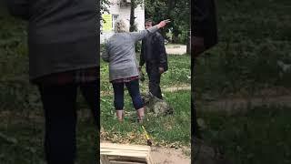 Скандал во время отлова собак в Смоленске
