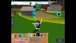 Game Roblox ANGEL Elemental Battlegrounds PK