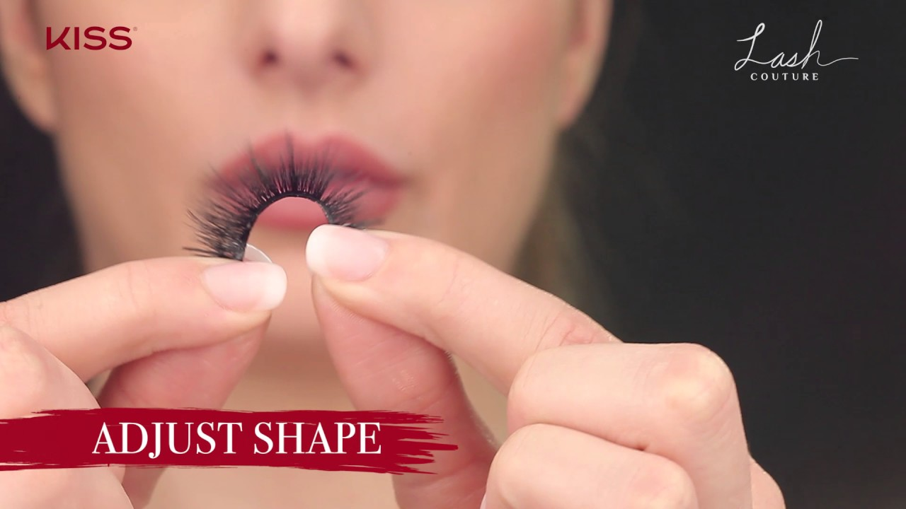 83386a0bd36 Watch: Simple how-to apply luxurious KISS faux mink lashes! - YouTube
