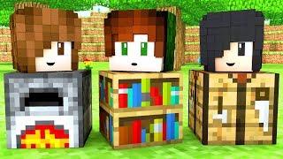 Minecraft - ESCONDE-ESCONDE EM FAMÍLIA