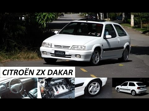 Garagem do Bellote TV: Citroën ZX Dakar