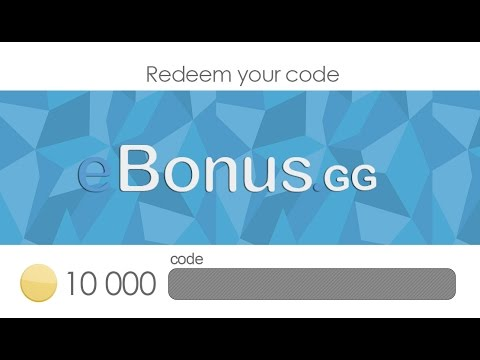 GETTING 5 USD EBonus.gg   GIVEAWAY 200 COINS CODE