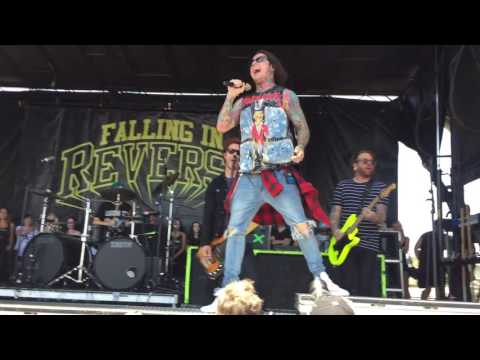 """FALLING IN REVERSE - """"ROLLING STONE"""" LIVE (WARPED TOUR 2016)"""