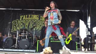 FALLING IN REVERSE ROLLING STONE LIVE WARPED TOUR 2016