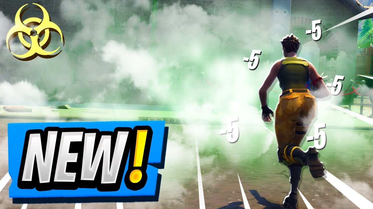 New Fortnite Stink Bomb Gameplay Early Comparison Smoke