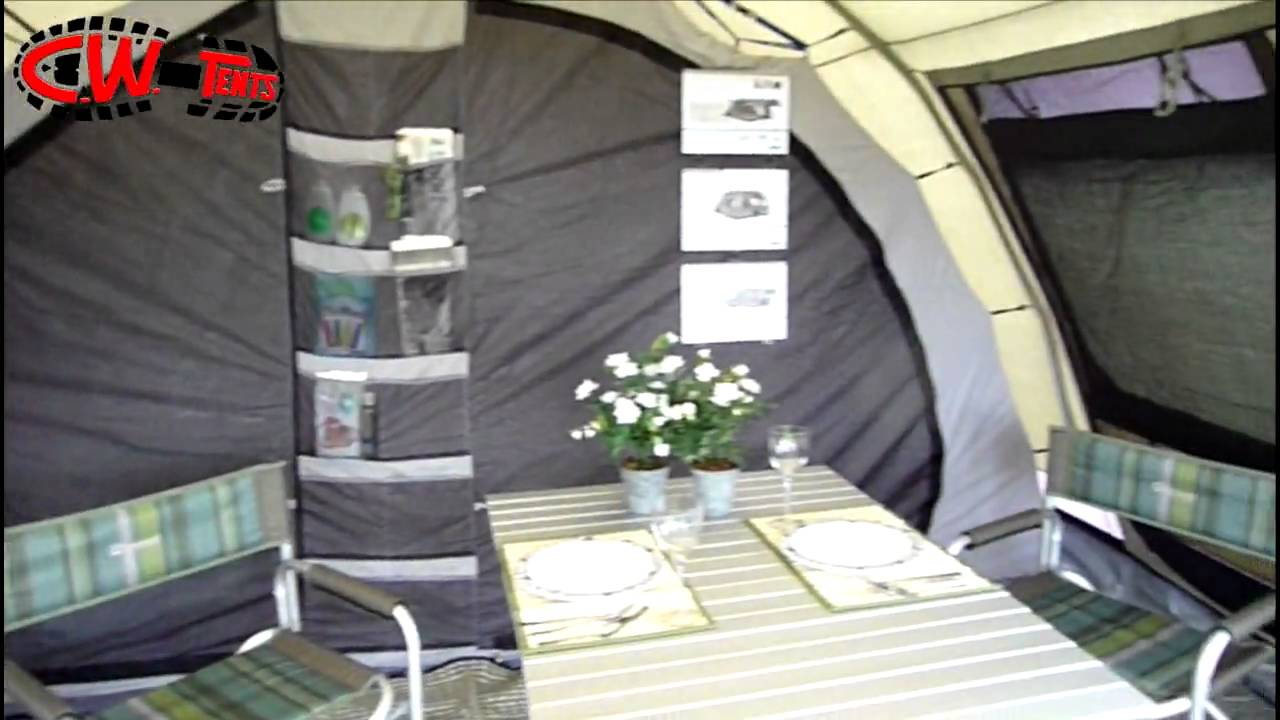 & Outwell Bear Lake 6 - CW Tents - YouTube