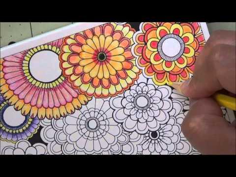 Secret Garden Postcard Fast Forward Coloring July 7 2015
