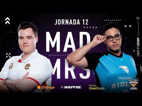 MAD LIONS E.C. VS MOVISTAR RIDERS | Superliga Orange League of Legends | Jornada 12 | 2019