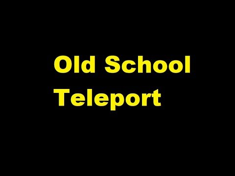 Old School Teleport Sound Effect